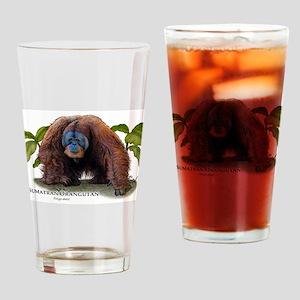 Sumatran Orangutan Drinking Glass