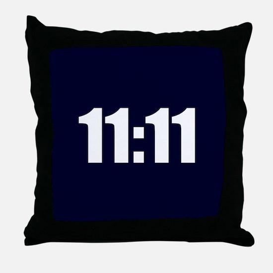11:11 Throw Pillow