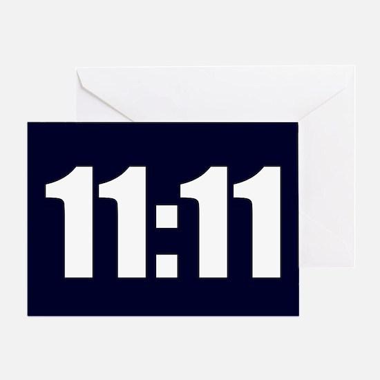 11:11 Greeting Card