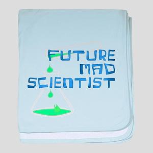 Future Mad Scientist 2 baby blanket