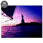 Statue of Liberty NYC Sailing Kids Omiage Puzzle