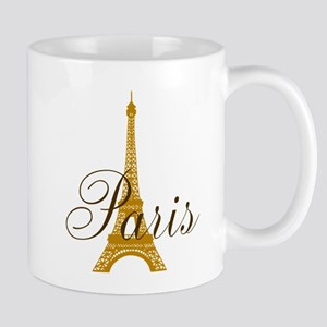 Paris Always (golden) Mug
