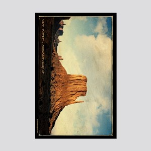 """Left Mitten"" Monument Valley (11x17)"