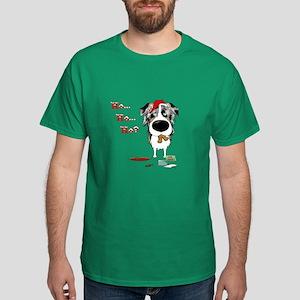Aussie Santa's Cookies Dark T-Shirt