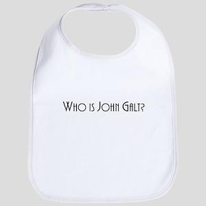 Who is John Galt Square light Baby Bib