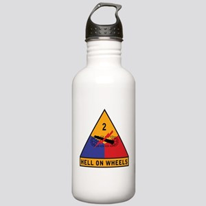 2nd Armored Division Stainless Water Bottle 1.0L