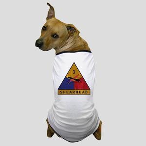 3rd Armored Division Vintage Dog T-Shirt