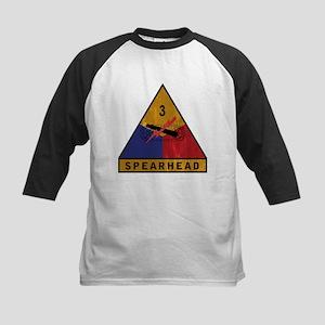 3rd Armored Division Vintage Kids Baseball Jersey