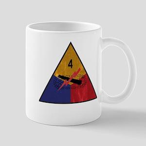 4th Armored Division Vintage Mug