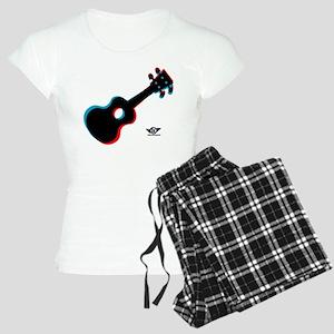 Ukulele 3D Women's Light Pajamas