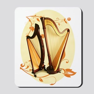 Harp Love Mousepad