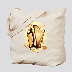 Harp Love Tote Bag