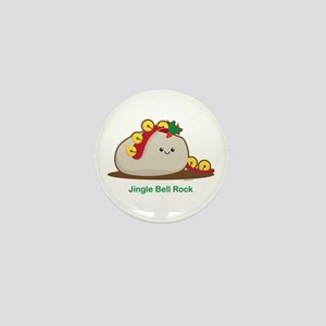 Jingle Bell Rock Mini Button