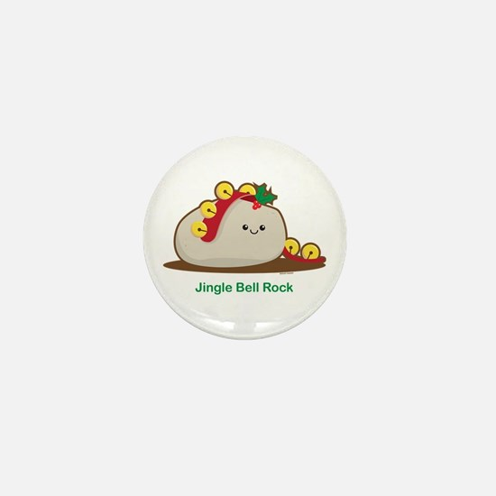 Jingle Bell Rock Mini Button