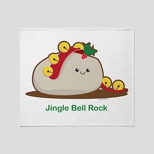 Jingle Bell Rock Throw Blanket