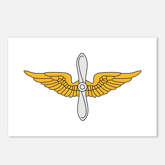 Aviation Branch Insignia Postcards (Package of 8)