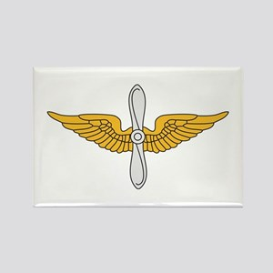 Aviation Branch Insignia Rectangle Magnet