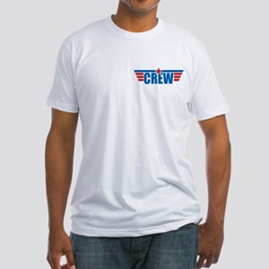 Aviation Crew Wings Fitted T-Shirt
