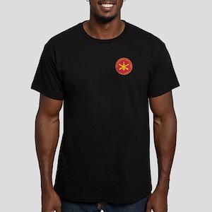 Air Defense Artillery Plaque Men's Fitted T-Shirt