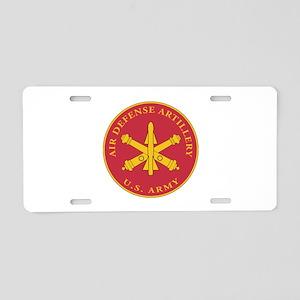 Air Defense Artillery Plaque Aluminum License Plat