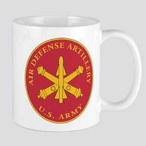 Air Defense Artillery Plaque Mug