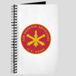 Air Defense Artillery Plaque Journal