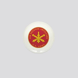 Air Defense Artillery Plaque Mini Button