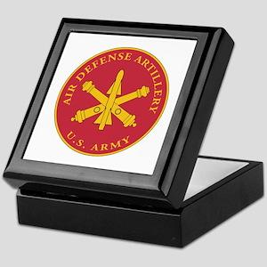 Air Defense Artillery Plaque Keepsake Box