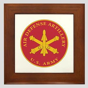 Air Defense Artillery Plaque Framed Tile