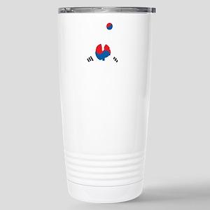 South Korea Soccer Stainless Steel Travel Mug
