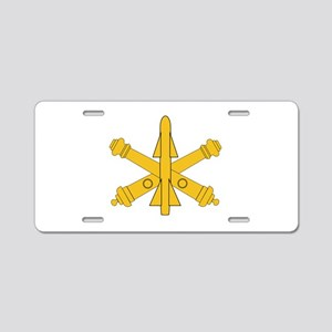 Air Defense Artillery Branch Insignia Aluminum Lic