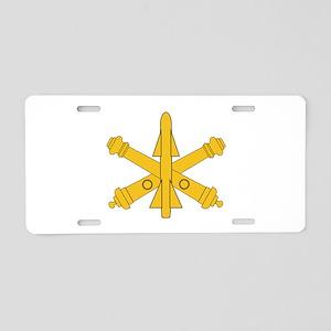 Air Defense Artillery Branch Insignia Aluminum Lic