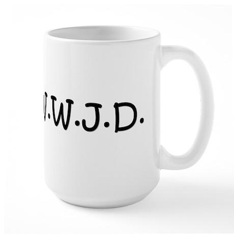 WWJD Large Mug