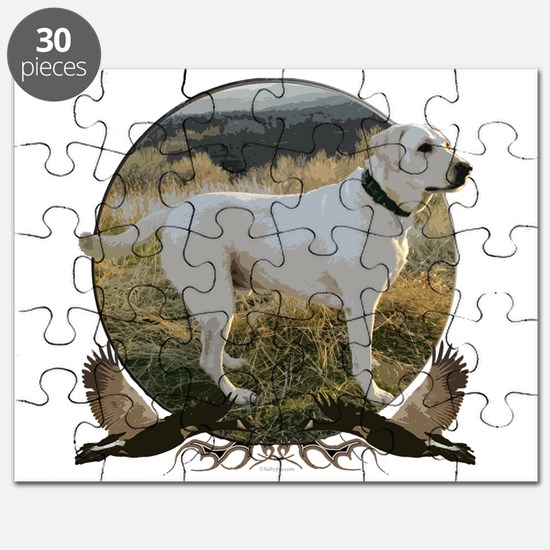 Yellow lab Puzzle