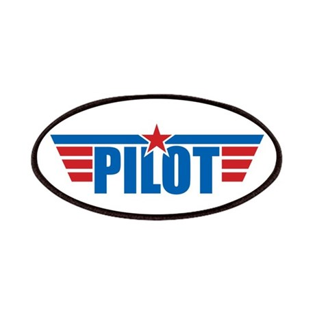 Pilot Aviation Wings Patches