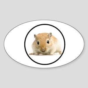 MY FRIEND Sticker (Oval)