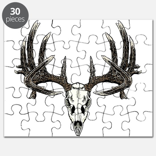 Big whitetail buck Puzzle