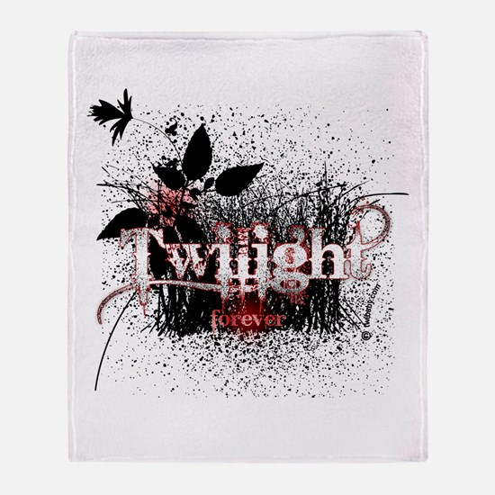 Twilight Forever by Twidaddy Throw Blanket