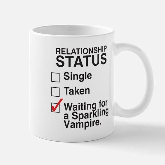 SIngle Taken Sparkling Vampir Mug