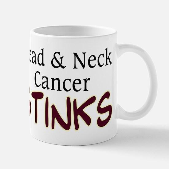 Head & Neck Cancer Stinks Mug