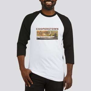 Cooperstown Americasbesthistory.com Baseball Tee