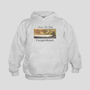 Cooperstown Americasbesthistory.com Kids Hoodie
