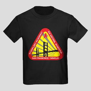 Star Fleet Academy Kids Dark T-Shirt