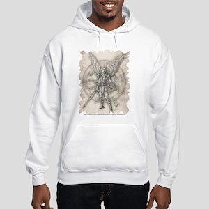 Archangel Michael Hooded Sweatshirt