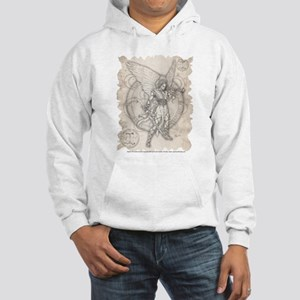 Archangel Gabriel Hooded Sweatshirt