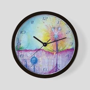 Land of Healing Wall Clock