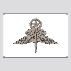 HALO Jump Master - Grey Banner
