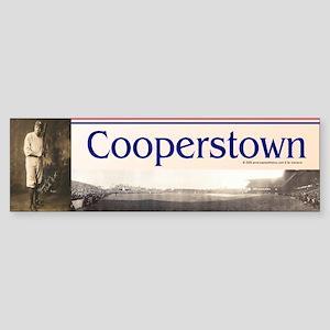 Cooperstown Americasbesthistory.c Sticker (Bumper)