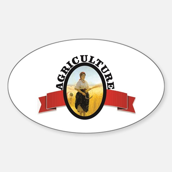 ag gal in industry Decal