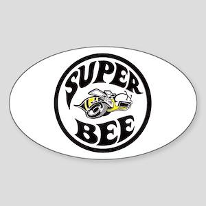 Super Bee design Sticker (Oval)